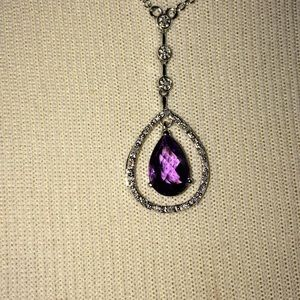 Jewelry - NIB Amethyst necklace
